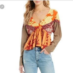 Just In!! Free People Aloha State of Mind Blouse